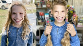 Georgia boy grows hair out for people in need
