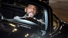 Actor Will Smith goes undercover as Lyft driver in Miami