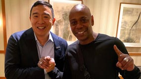 Dave Chappelle endorses Andrew Yang in 2020 Democratic primary