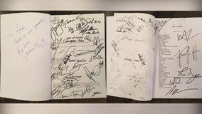 Signed 'Game of Thrones' script to be auctioned off in England, could go for thousands