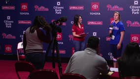 2020 Philadelphia Phillies ball girl tryouts