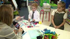 Moorestown 2nd grade class creates care kits for homeless