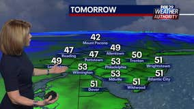 Weather Authority: Mild temperatures Friday ahead of weekend rain