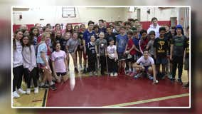 Local kids rally to raise money for prosthetic leg for 12-year-old cancer survivor