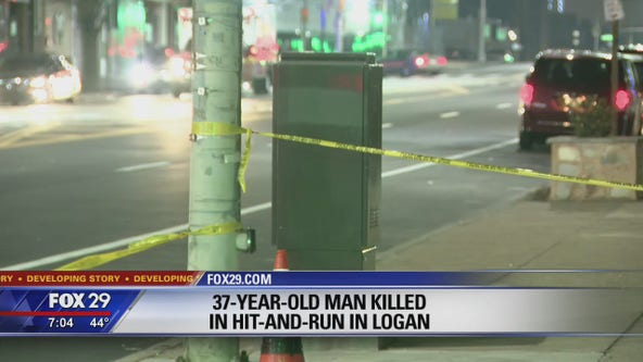 Man, 37, fatally struck in Logan hit-and-run