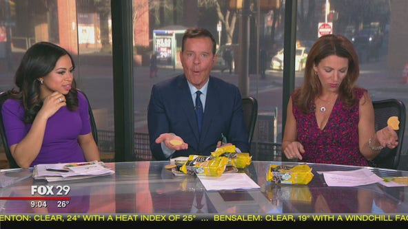 Girl Scouts send Good Day the much sought after lemon-up cookies
