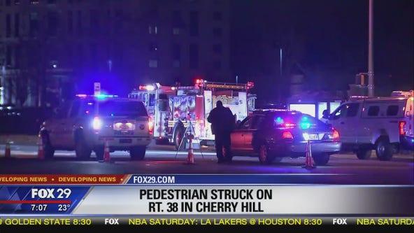Pedestrian struck on Route 38 in Cherry Hill