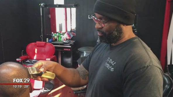 Local man hopes to open barber school to mentor young people