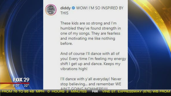 Diddy responds to viral video asking him to dance with pediatric patients for cancer awareness