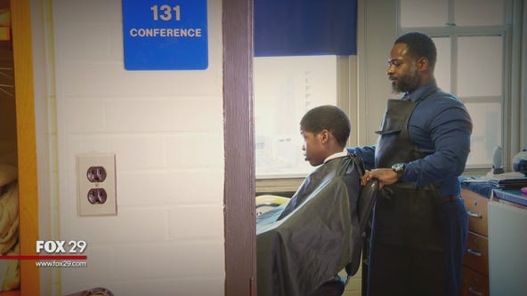 Wilmington principal finds unique way to connect with students through haircuts