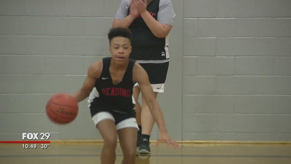 Reading High School basketball player relives miracle shot