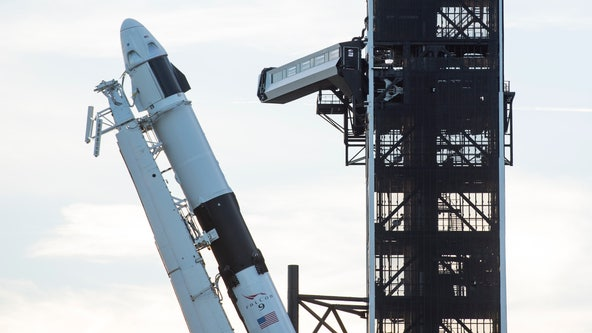 SpaceX will try abort test launch on Sunday after weather delay earlier in the weekend