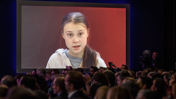 Greta Thunberg scolds leaders at Davos forum: 'Pretty much nothing has been done' on climate change