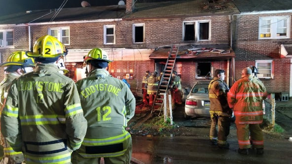 5 injured, including 3 children, after Chester house fire