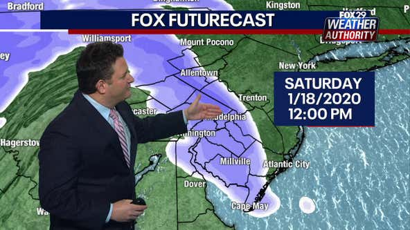 Weather Authority: Snow and rain expected Saturday