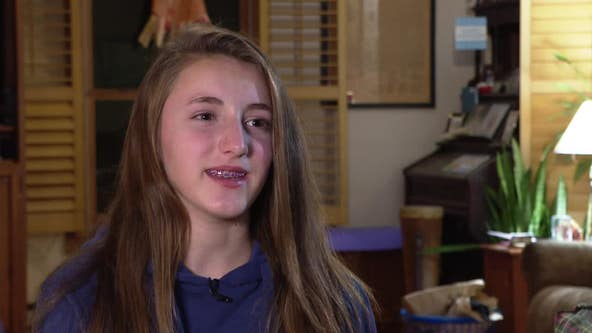 Local 13-year-old girl has Olympic dreams