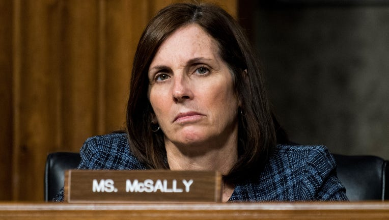 UNITED STATES - DECEMBER 3: Sen. Martha McSally, R-Ariz., listens during the Senate Armed Services Committee hearing on privatized military housing on Tuesday, Dec. 3, 2019. (Photo By Bill Clark/CQ-Roll Call, Inc via Getty Images)
