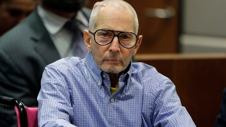 Real estate heir Robert Durst appears in court for a preliminary hearing after being charged with capital murder in Susan Berman's killing.