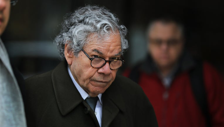 Insys Therapeutics founder John N. Kapoor, as he left a federal courthouse in Boston in March 2019.
