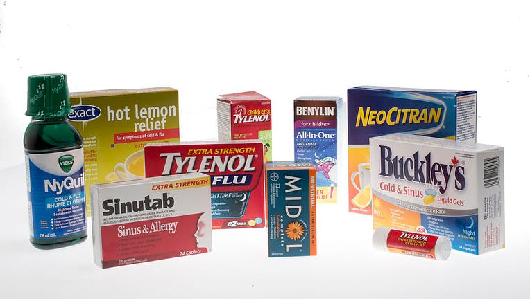 FILE ART - Acetaminophen products (Keith Beaty/Toronto Star via Getty Images)