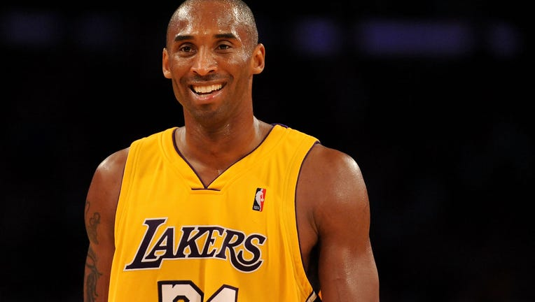 Kobe Bryant of the Los Angeles Lakers