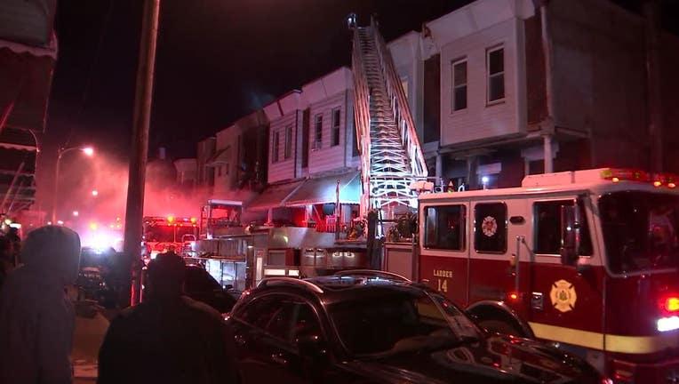 North Bailey Street fire