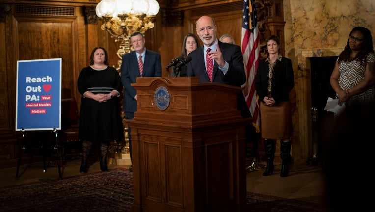 Reach Out PA: Your Mental Health Matters press conference