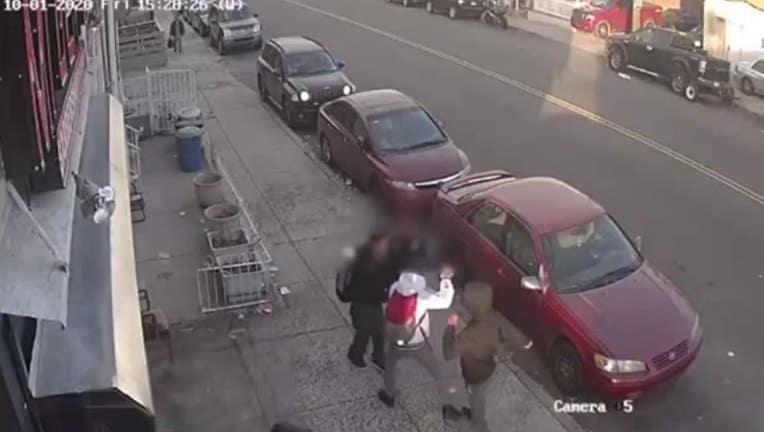 Rockland Street robbery