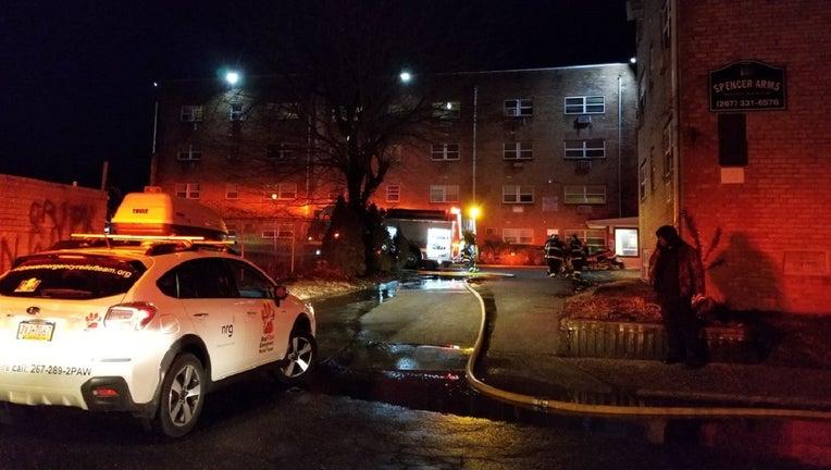 Spencer Street fire