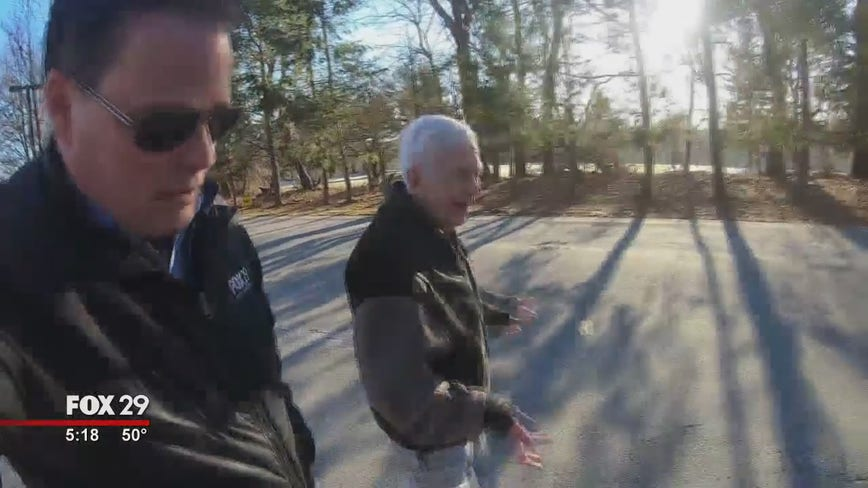 Hank's Take: Man walks 26 miles for 82nd birthday