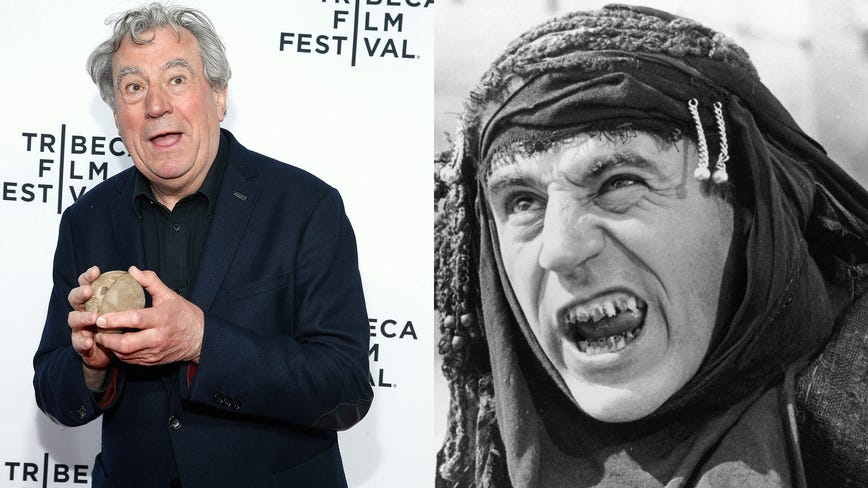 'Naughty boy': Monty Python star Terry Jones dies at 77