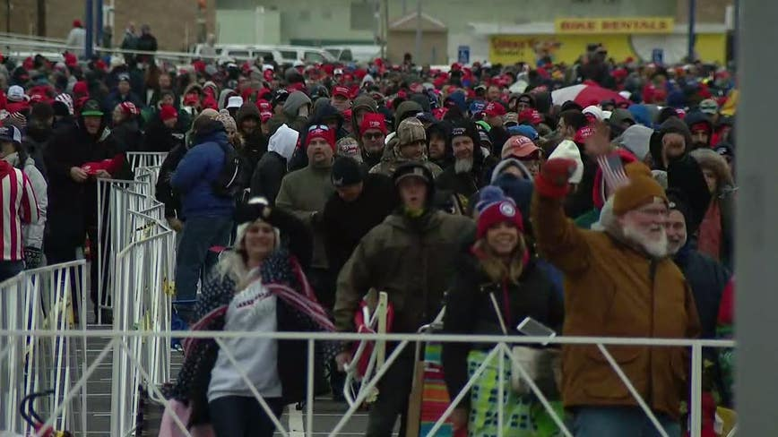 Thousands flock to Wildwood, New Jersey for Trump rally