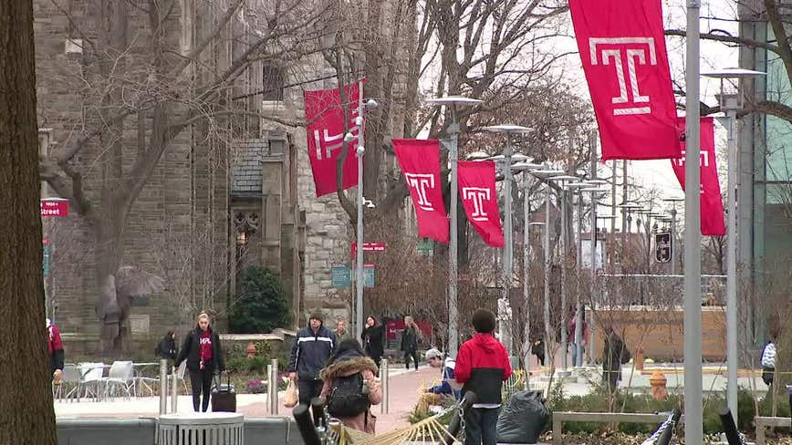 Temple University faculty demands classes remain online through spring semester