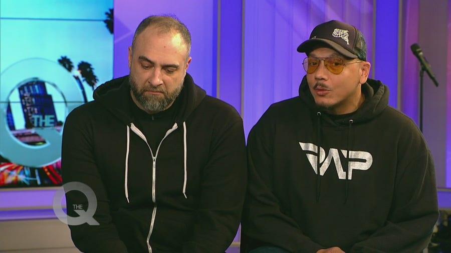 Kurt Metzger and Luis J Gomez visit the Q Show