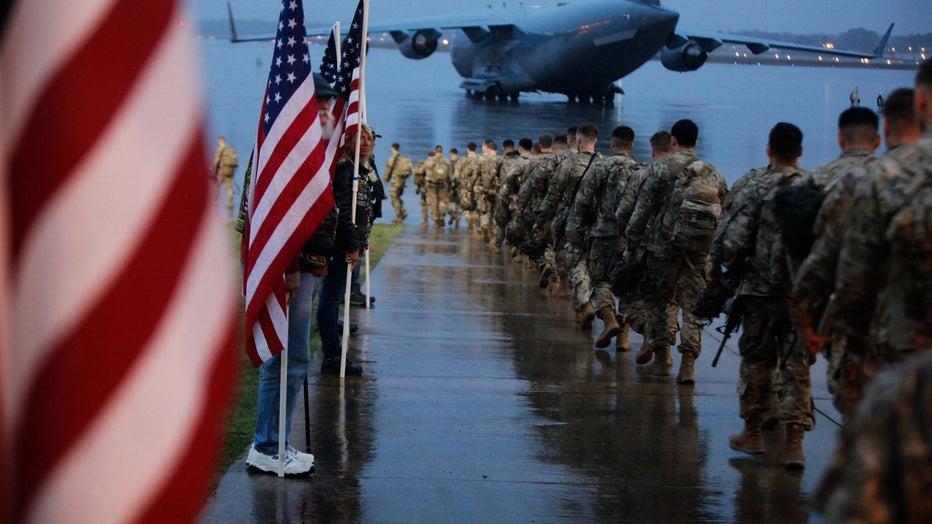 1st Brigade Combat Team, 82nd Airborne Division deployment