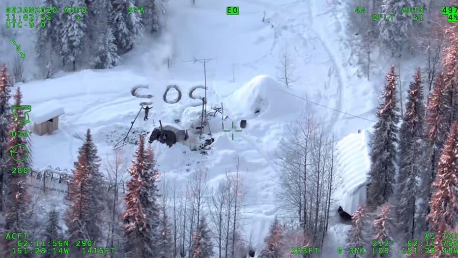Tyson Steele rescued by Alaska State Troopers