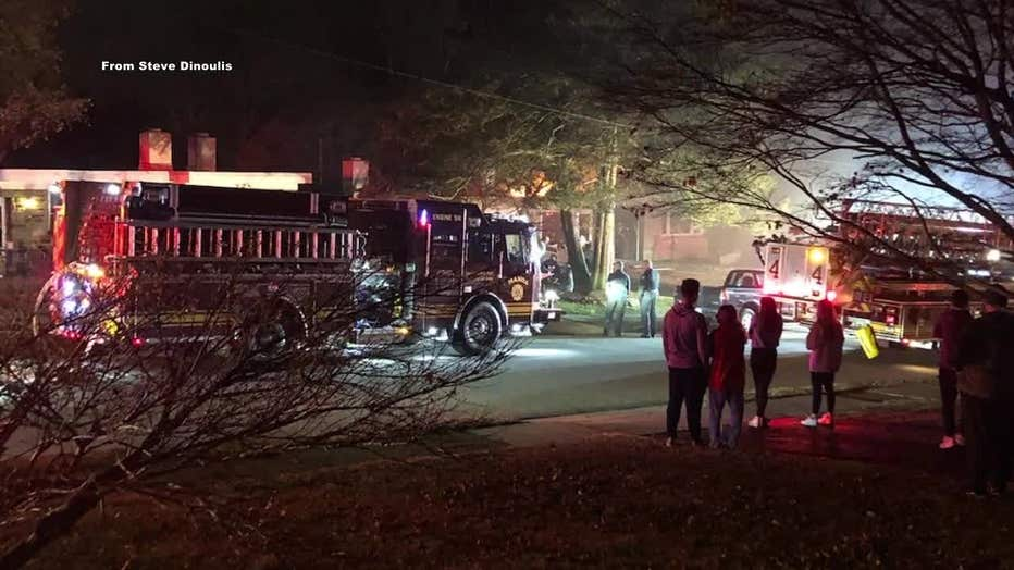 Delaware County fire