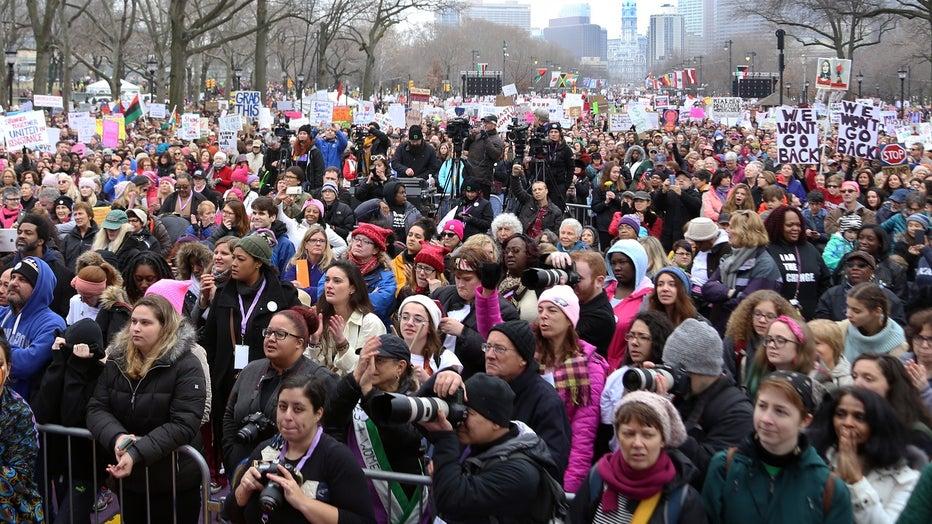 Women's March on Philadelphia 2017