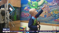 New murals offer hope for sick children fighting to feel better at St. Christopher's