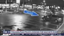 Police search for suspect in machete attack in Northeast Philadelphia