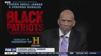 Kareem Abdul-Jabbar discusses his documentary on Black American heroes of the Revolutionary War