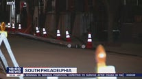 Crews start patching up street after explosion in South Philadelphia
