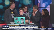 Boy with autism shows off his DJ skills on Good Day