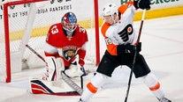 Van Riemsdyk has 3-point game, Flyers beat Panthers 6-2