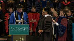 Oprah to Skidmore College grads: Follow your 'inner truth' and live a spiritual life