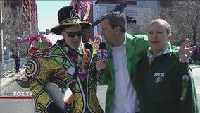 Avalon String Band struts alongside PFCU in St. Patrick's Day Parade