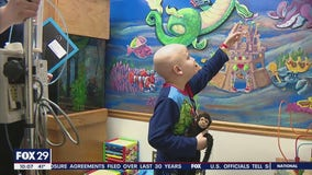 New murals offer hope for sick children fighting to feel better at St. Christopher's