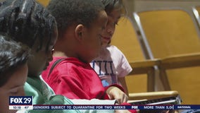 Eisenberg Elementary students take part in World Read Aloud Day