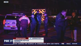 Police chase involving ambulance ends in Philadelphia