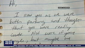 Creepy, handwritten notes left on cars of women in New Castle County leave many feeling disturbed